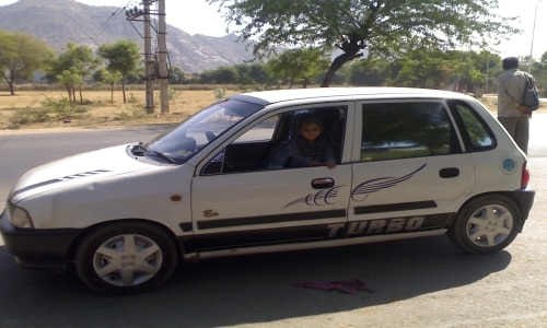 maruti zen lxi bs iii id 19633 used car pictures in jodhpur. Black Bedroom Furniture Sets. Home Design Ideas