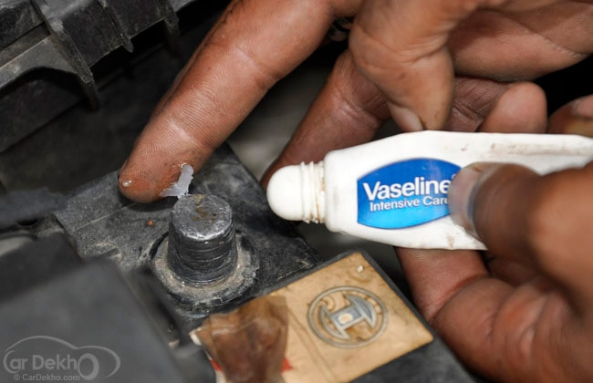 Cleaning Battery Terminals On Car
