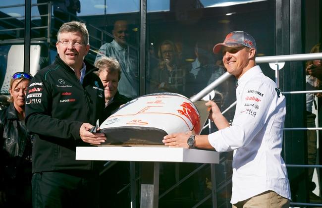 Schumacher-cake