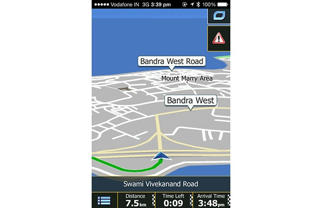 ANS Navigation iPhone App