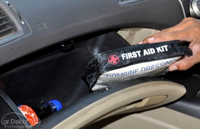 Emergency Kit in the Glove Box