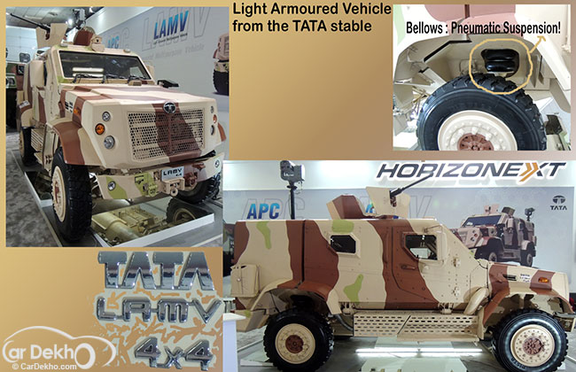 Automotive Technology at Defence Expo