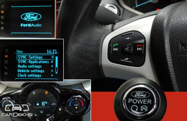 Ford Ecosport Dashboard