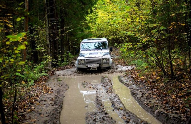 Land Rover Experience at Solihull