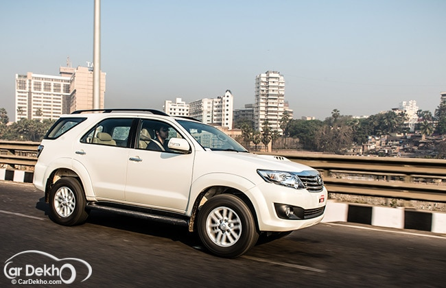 Toyota Fortuner 5 Speed Automatic Expert Review Cardekho Com