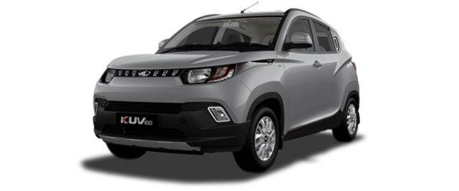 Dazzling Silver மஹிந்திரா KUV 100