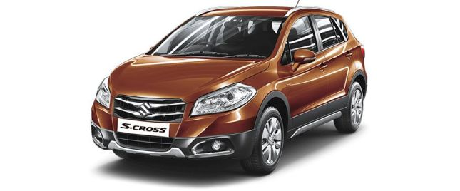 Caffeine Brown మారుతి SX4 S Cross