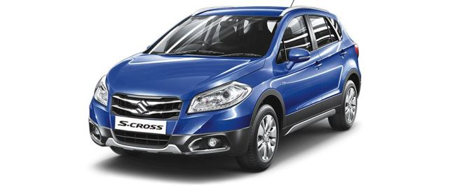 Urban Blue మారుతి SX4 S Cross