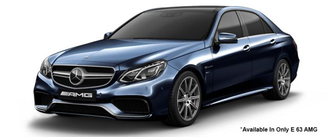 Cavansite Blue 63 AMG Variant मसेर्डीज-बेंज ई-क्लास