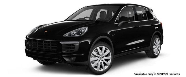 Black S Diesel Variant போர்ஸ் Cayenne