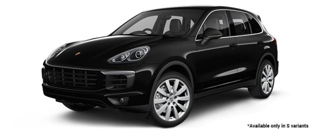Jet Black Metallic S Variant போர்ஸ் Cayenne