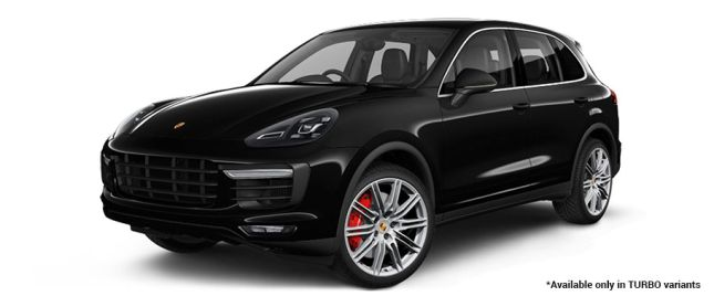 Jet Black Metallic Turbo Variant போர்ஸ் Cayenne