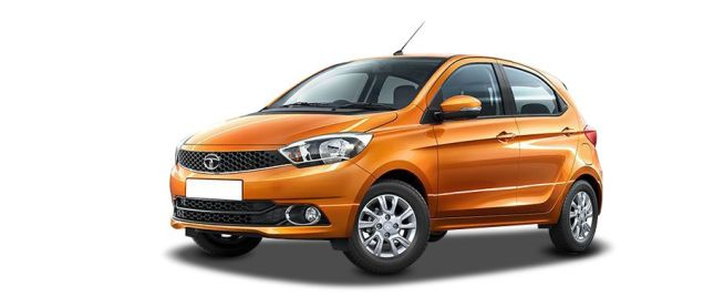 Sunburst Orange టాటా Tiago