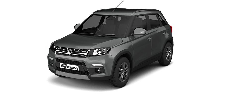 Maruti Vitara Brezza Granite Grey Color
