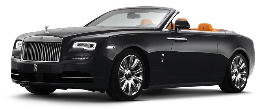 Rolls-Royce Dawn Diamond Black Color