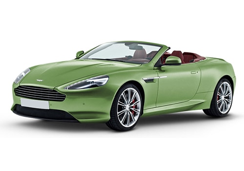 Aston Martin DB9 Appletree Green Color