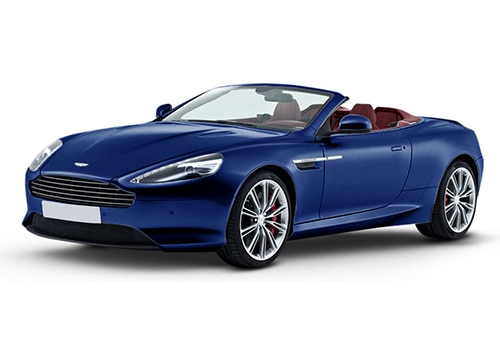 Aston Martin DB9 Cobalt Blue Color