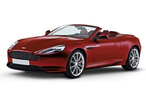 Aston Martin DB9 Volcano Red Color