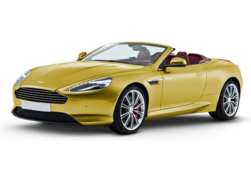 Aston Martin DB9 Yellow Tang Color