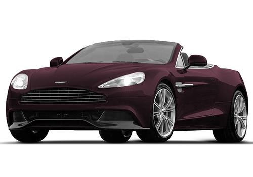 Aston Martin Vanquish Amethyst Red Color