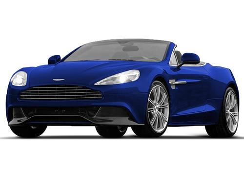 Aston Martin Vanquish Cobalt Blue Color