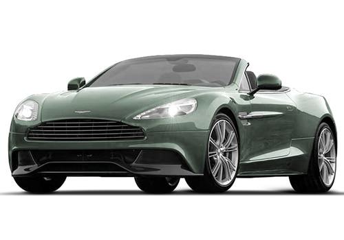 Aston Martin Vanquish Hardly Green Color