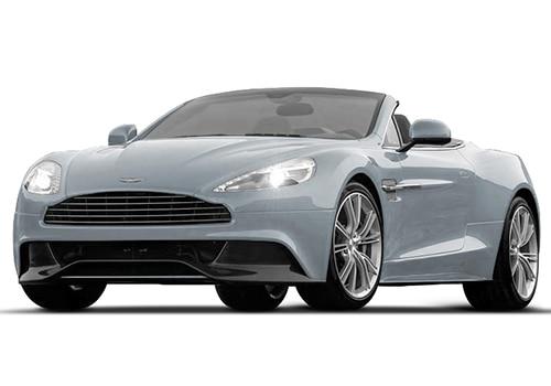 Aston Martin VanquishLightning Silver Color