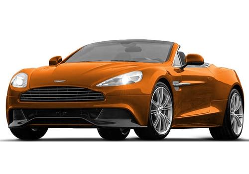 Aston Martin Vanquish Madagascar Orange Color