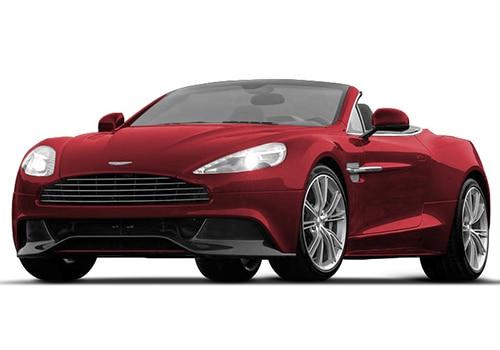 Aston Martin Vanquish Magma Red Color