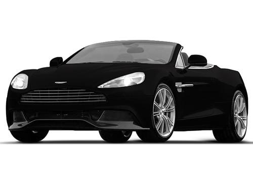 Aston Martin Vanquish Onyx Black Color