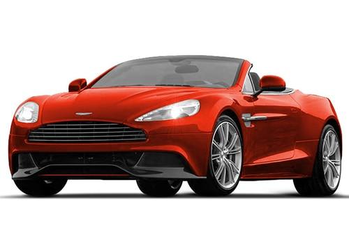 Aston Martin Vanquish Red Lion Color