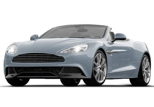 Aston Martin Vanquish Skyfall Silver Color