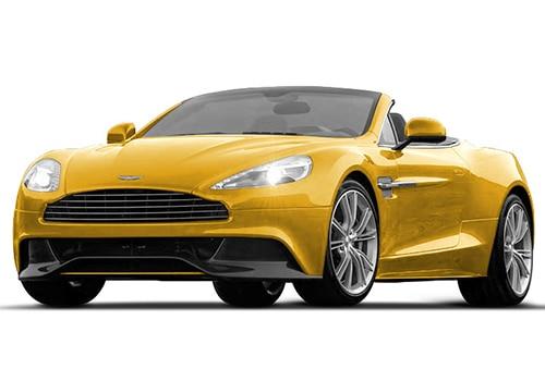 Aston Martin Vanquish Sunbrest Yellow Color