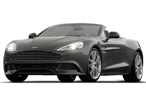 Aston Martin Vanquish Tungsten Silver Color