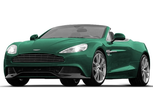 Aston Martin Vanquish Viridian Green Color