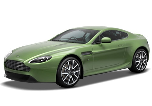 Aston Martin Vantage Appletree Green Color