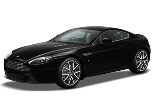 Aston Martin Vantage Jet Black Color