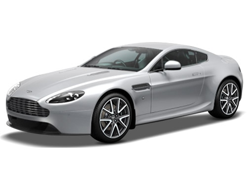 Aston Martin Vantage Lightning Silver Color