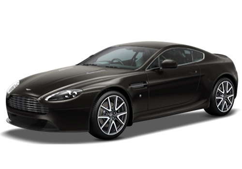 Aston Martin Vantage Marron Black Color