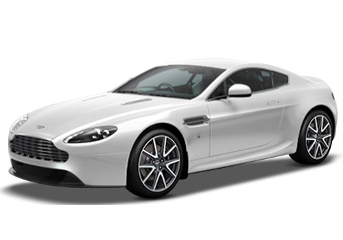 Aston Martin Vantage Morning Frost White Color
