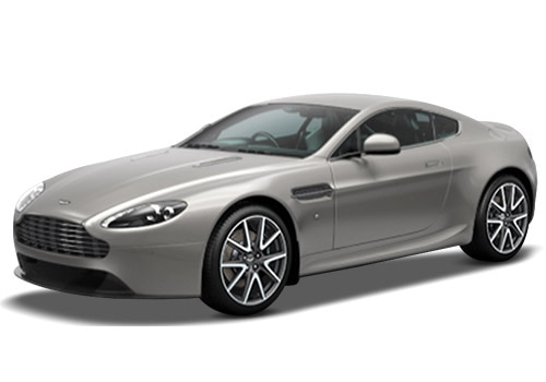 Aston Martin Vantage Silver Blonde Color