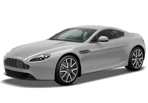 Aston Martin Vantage Silver Fox Color