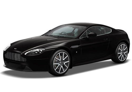 Aston Martin Vantage Storm Black Color