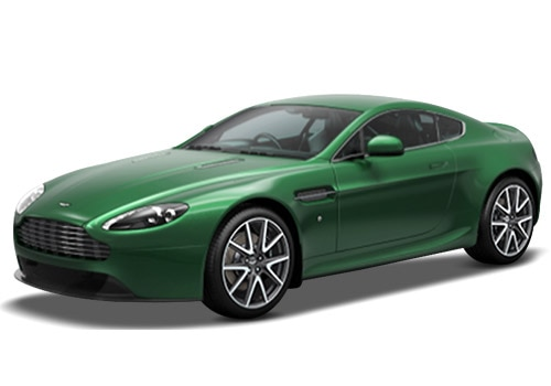 Aston Martin Vantage Viridian Green Color
