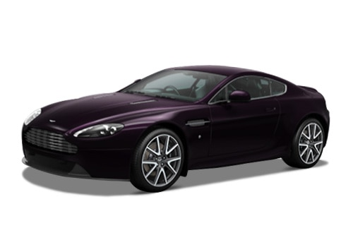 Aston Martin Vantage Amethyst Red Color
