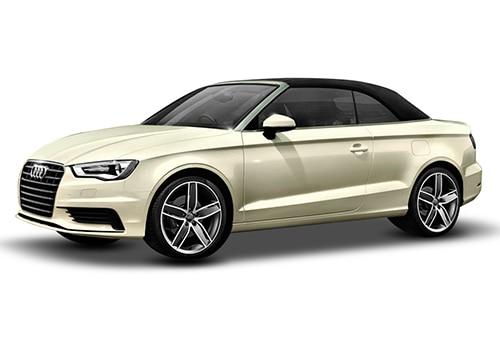 Audi A3 cabriolet Amalfi White Color