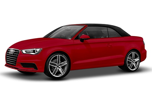 Audi A3 cabriolet Brilliant Red Color