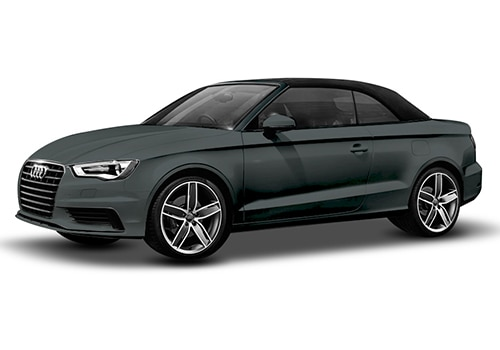 Audi A3 cabriolet Monsoon Gray Metallic Color