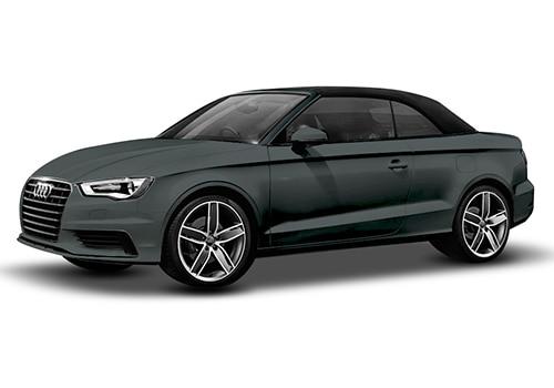 Audi A3 cabriolet Monsoon Gray Metallic Color