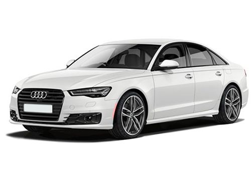 Audi A6 Ibis White Color